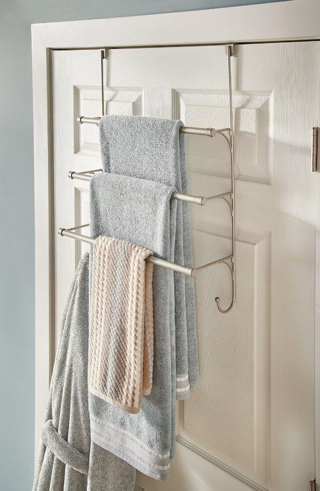 17 Bathroom Towel Bar Ideas Transform, Unique Towel Bars For Bathrooms