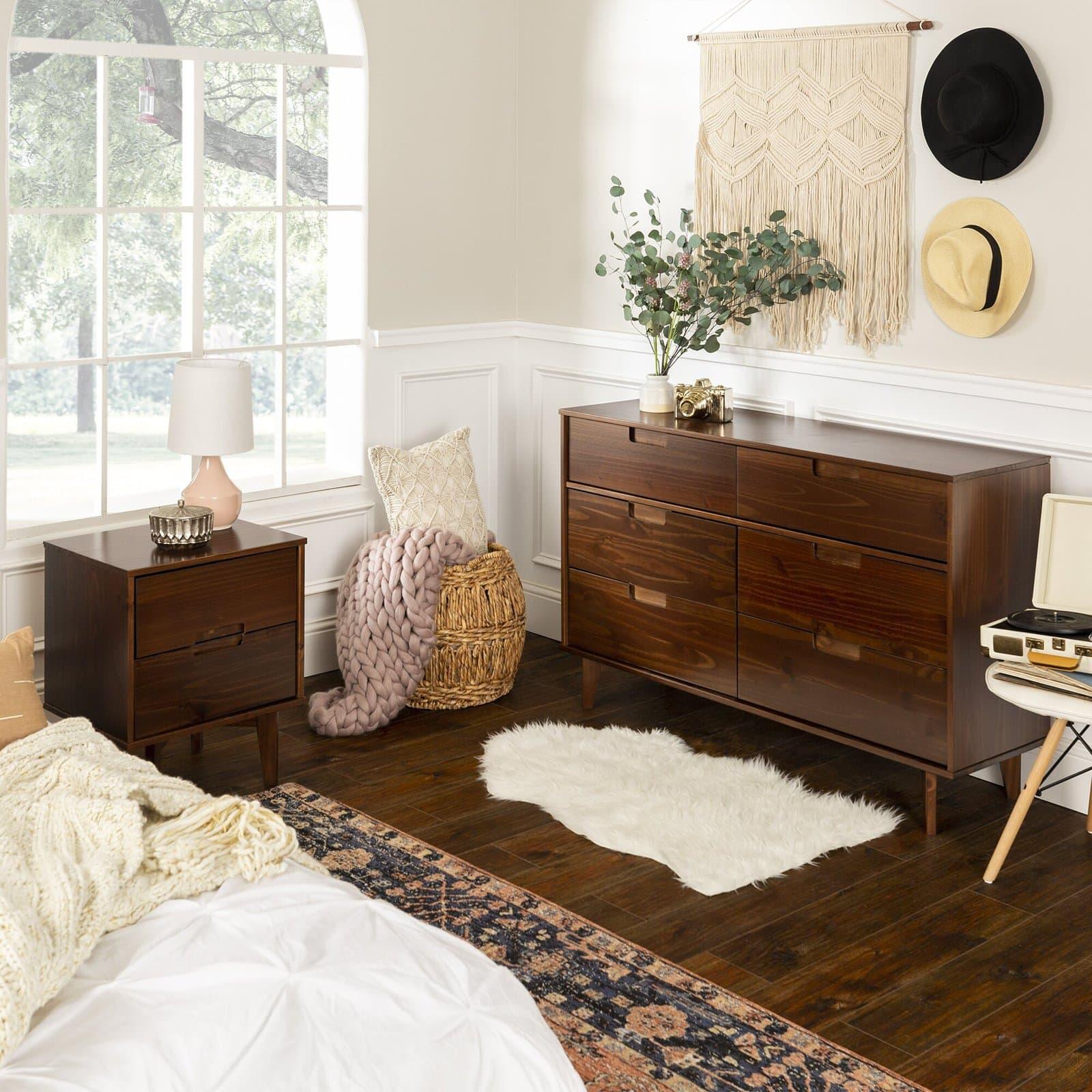 Dorinda 6 Drawer Double Dresser