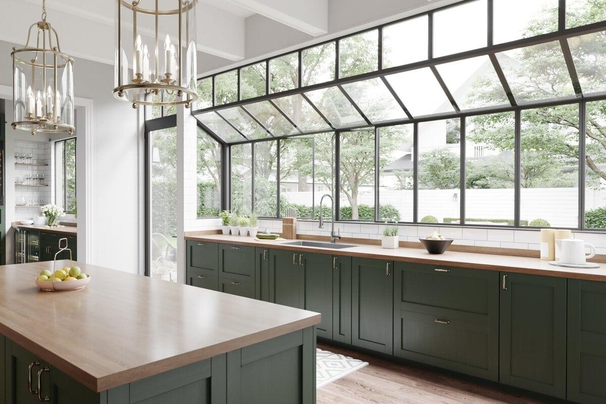 9 Trendy Dark Kitchen Cabinet Ideas