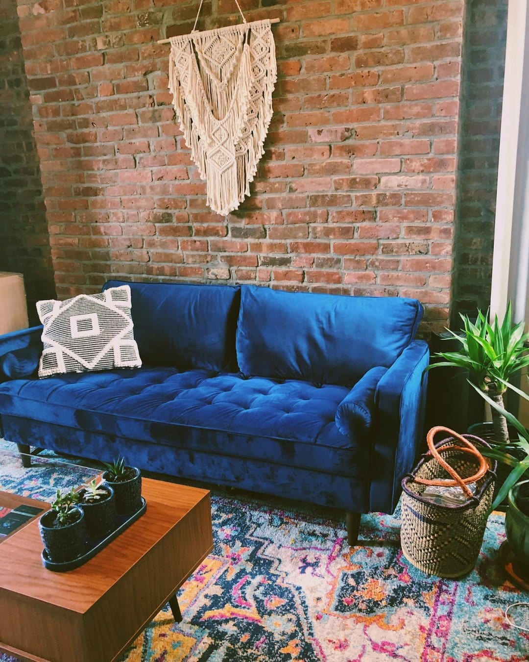 15 Blue And Grey Living Room Ideas