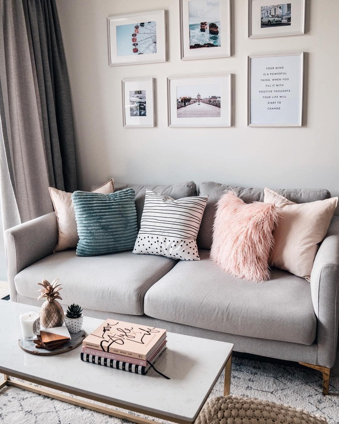Embrace A Feminine Living Space