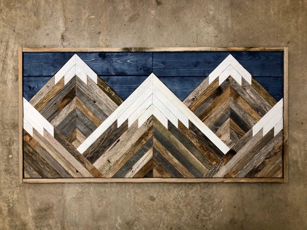 20 Unique Wood Wall Art Ideas