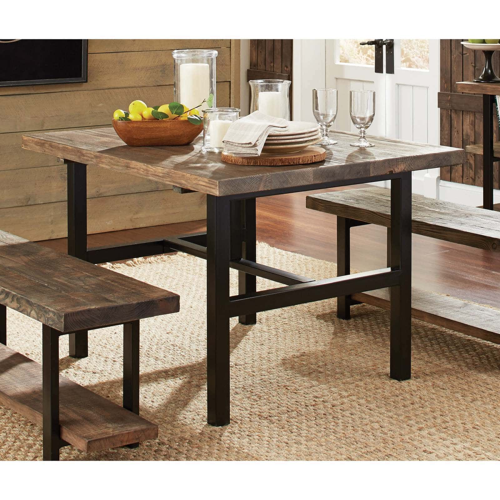Carbon Loft Lawrence Reclaimed Wood Dining Table