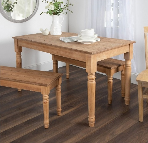 Cates Wood Farmhouse Dining Table