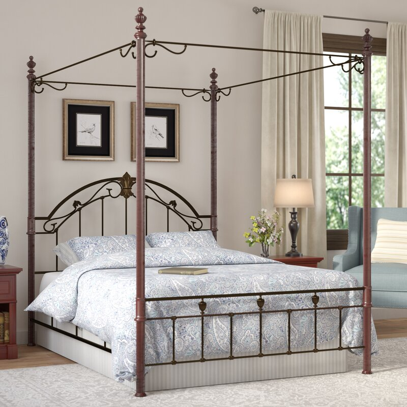 Ideas For A Vintage, Grey And White Bedroom