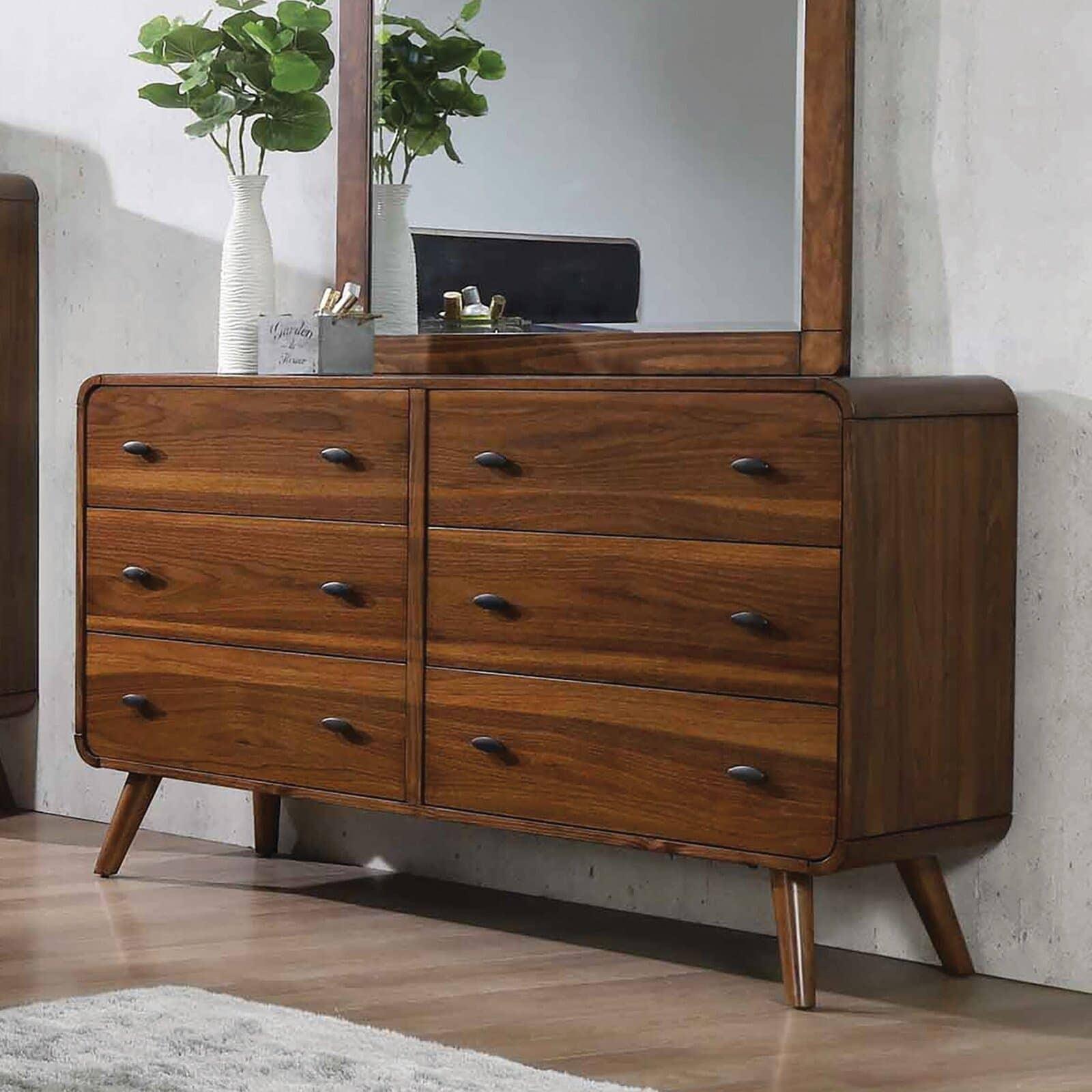 Gerbold 6 Drawer Double Dresser