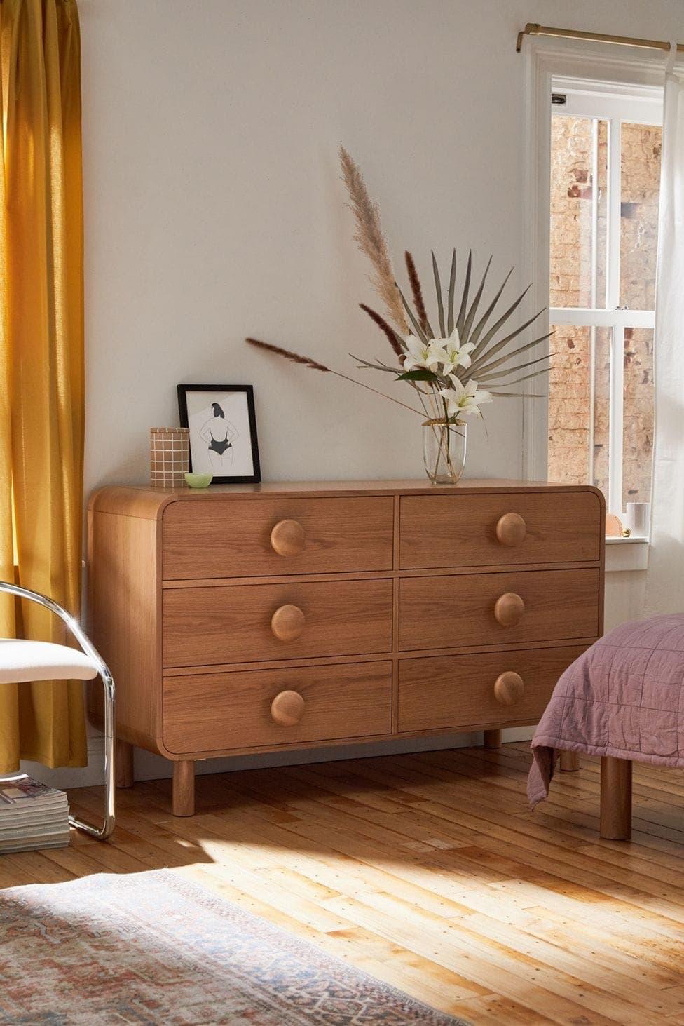 Tabitha 6-Drawer Dresser