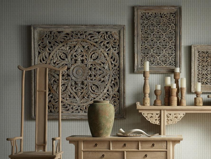 Uma Carved Wall Panel