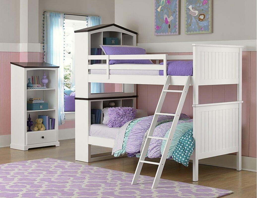 Purple Kids Bedroom Design