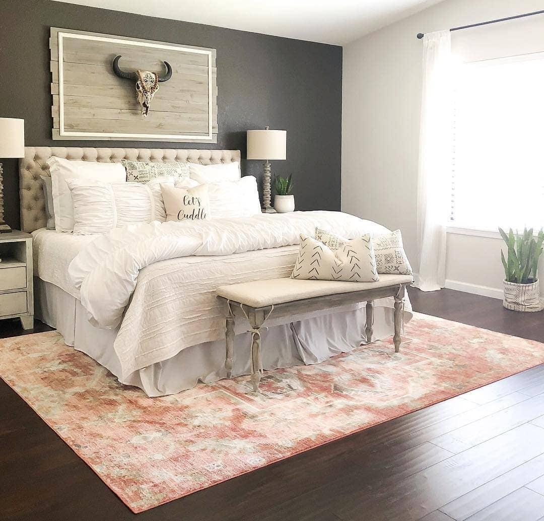 A Rustic Bedroom Aesthetic