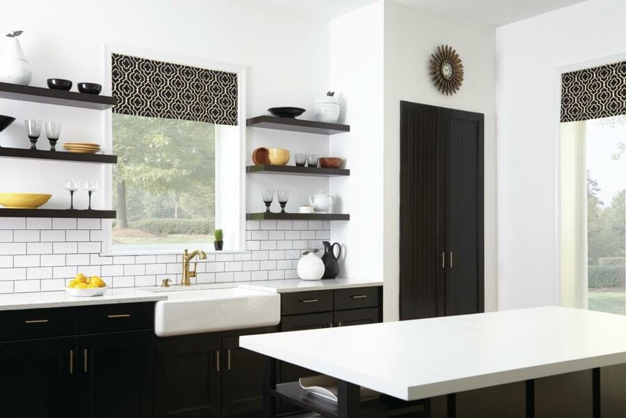 10 Over the Sink Kitchen Window Treatments