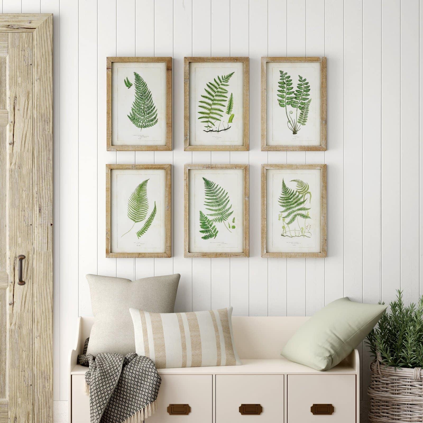 Framed Botanical Wall Art