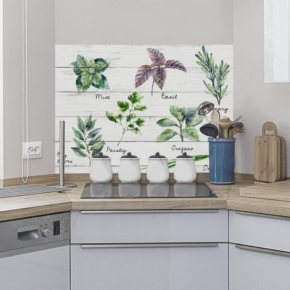 Herbs and Spices Wall Decal