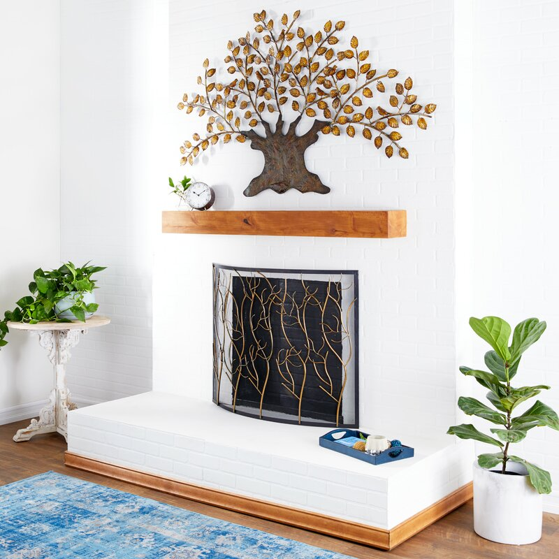 Bring the Outside in With a Rustic Copper Tree