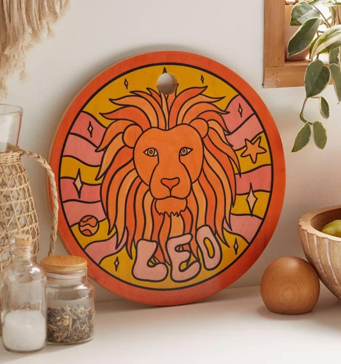 Zodiac Cutting Board