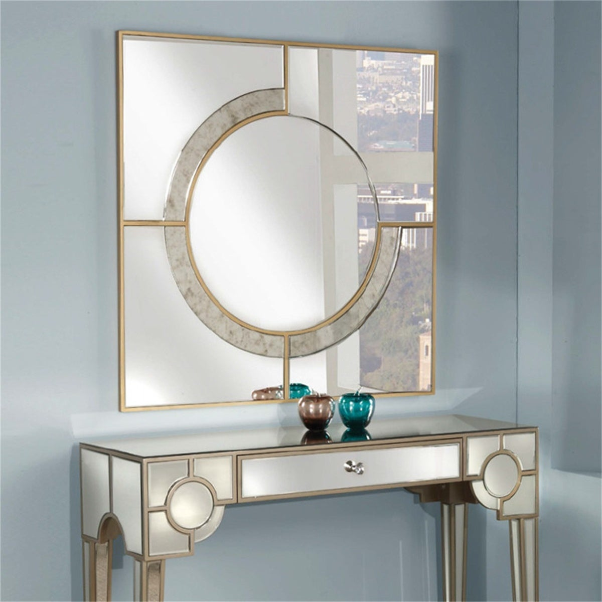Matching Mirror and Console Table