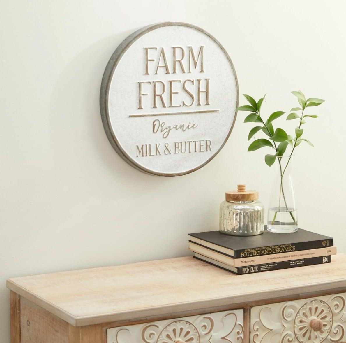 Organic Butter Sign