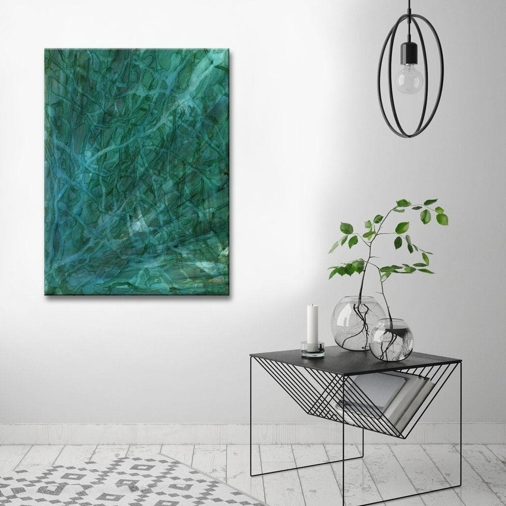 Keep it Simple with Oversized Wall Art