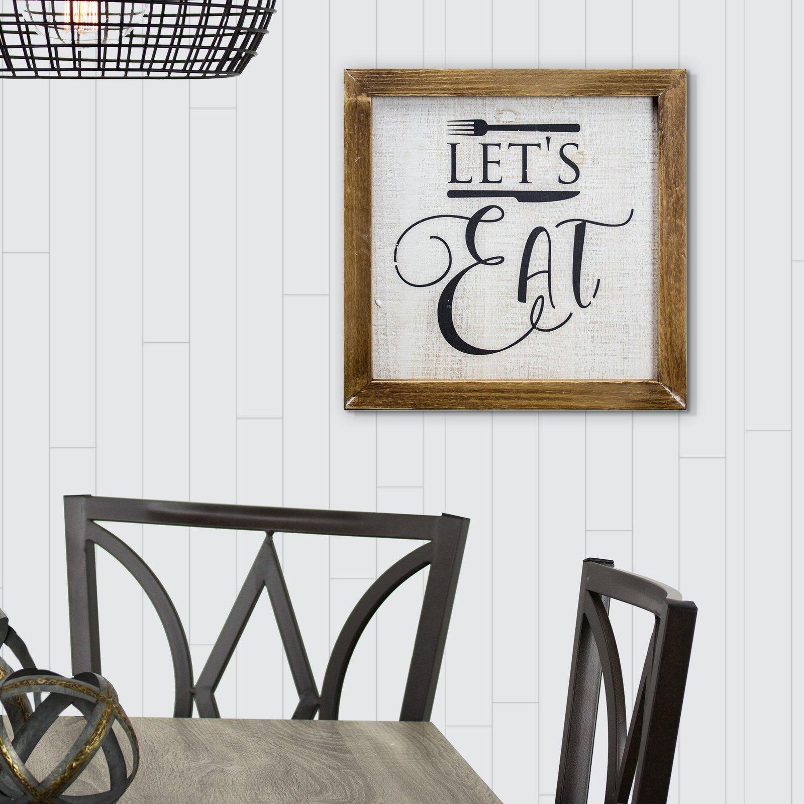 Let's Eat Sign