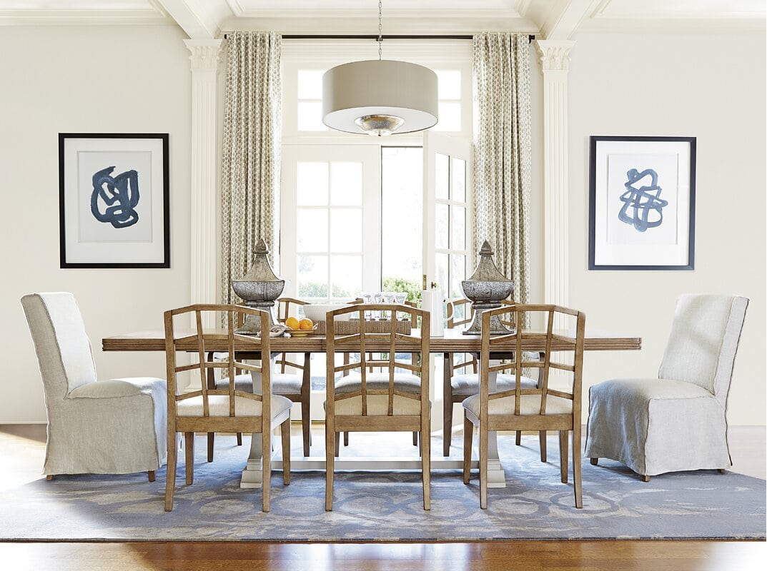 Patterned Dining Room Curtains