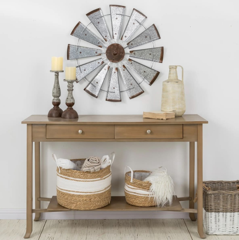 Rustic Vintage Wind Spinner