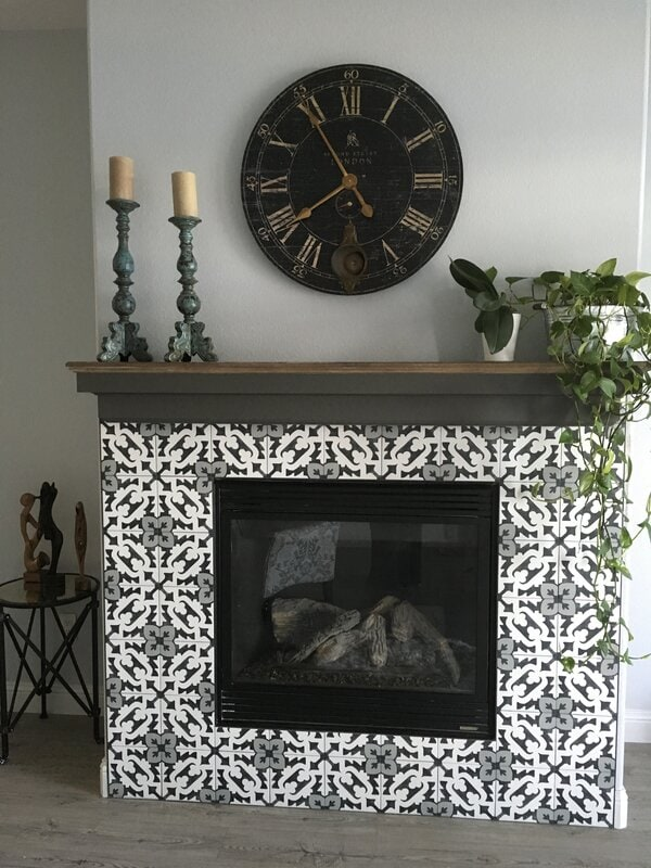 An Oversized Wall Clock