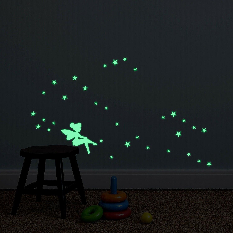 Glow in the Dark Fairy Wall Sticker