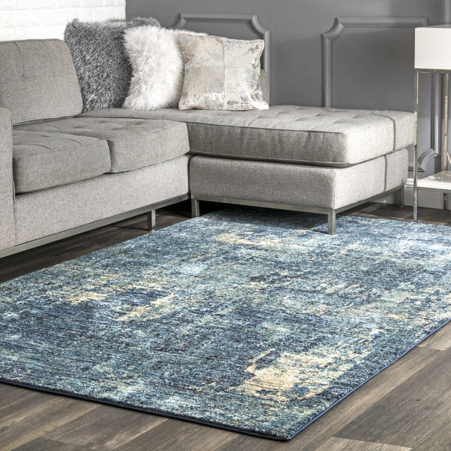 Place The Rug Off-Centre