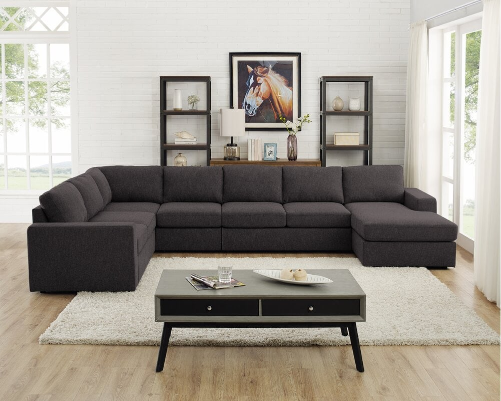 How to Place a Rug Under a Sectional Sofa - 12 Ideas