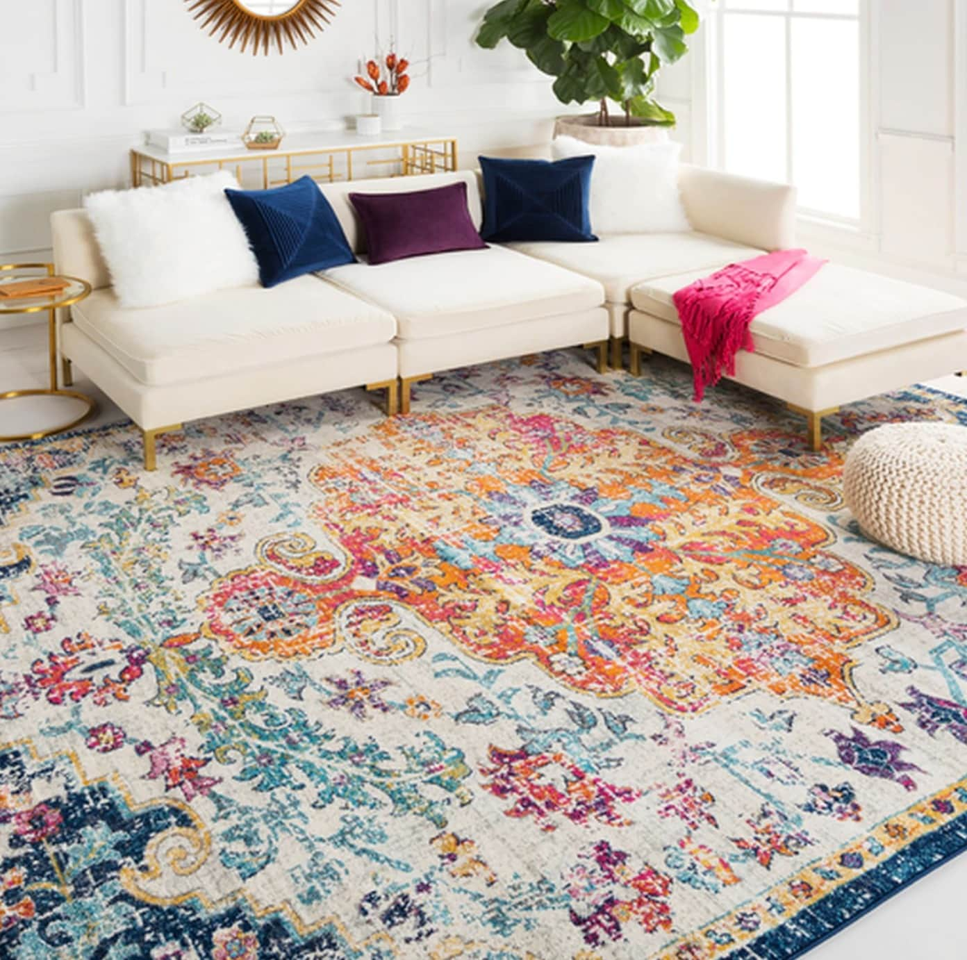 Make The Rug The Main Feature of Your Room