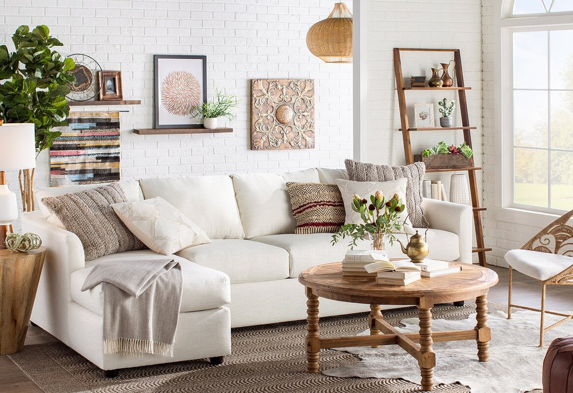 Layer Different Rugs for an Eclectic Look