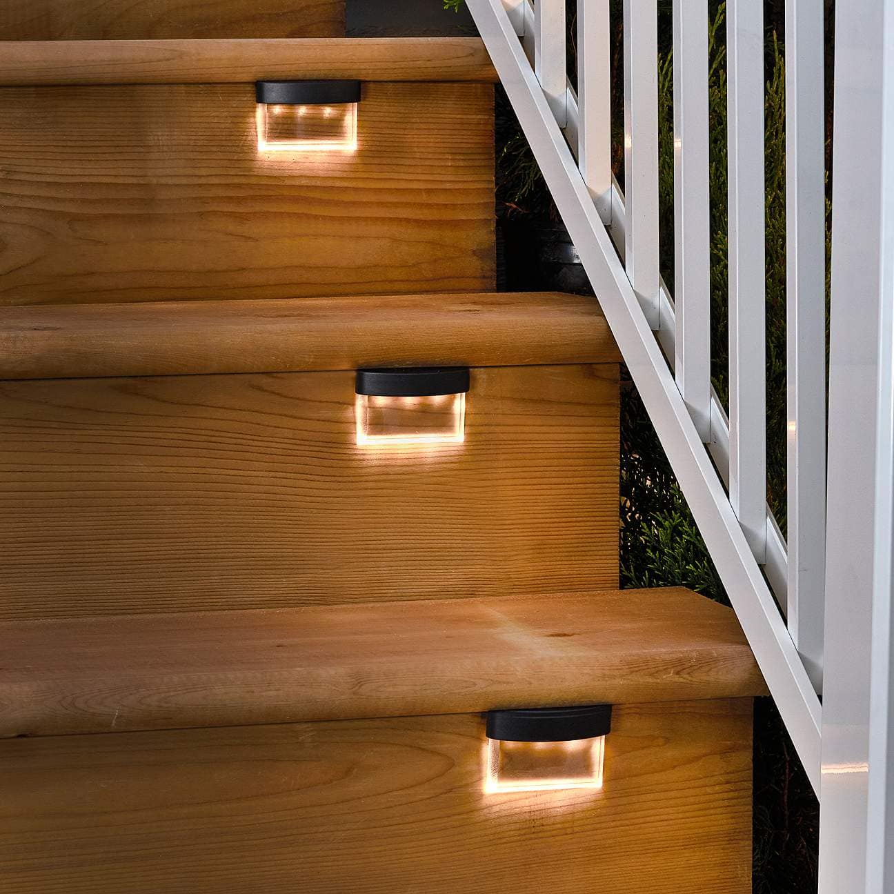 Contemporary Outdoor Step Lights