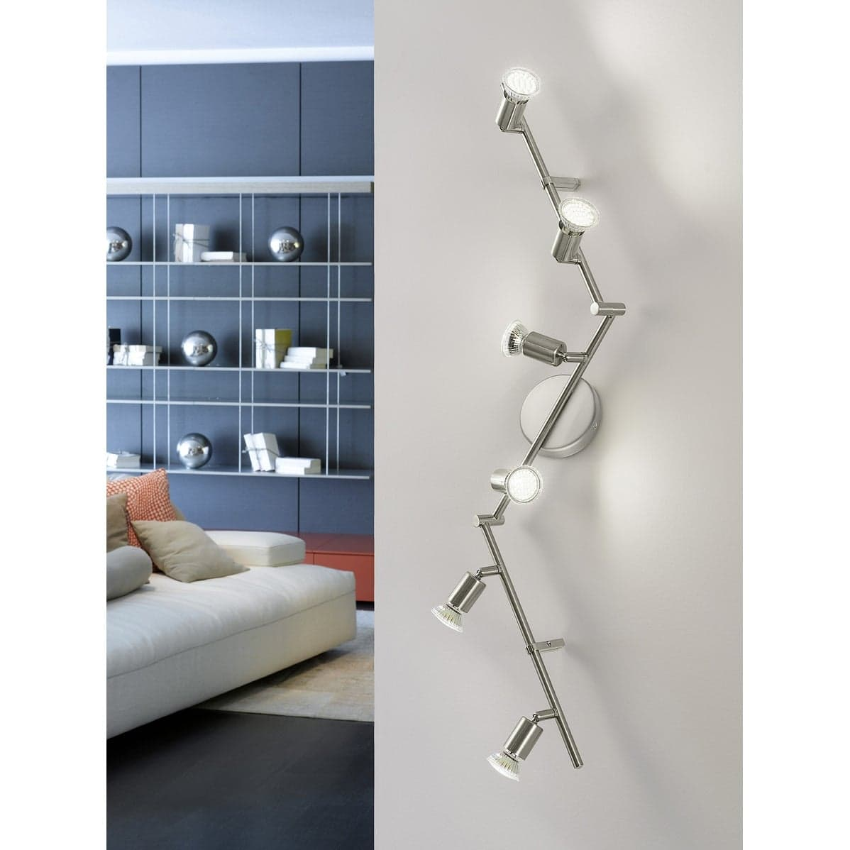 Try Using Track Lighting on The Walls