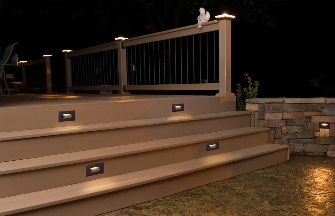 Warm Bronze Stair Lights