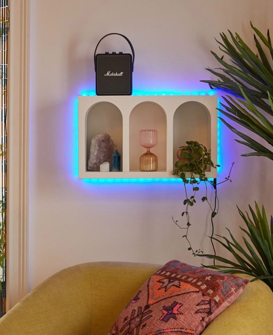 Highlight Features With LED Strip Lights