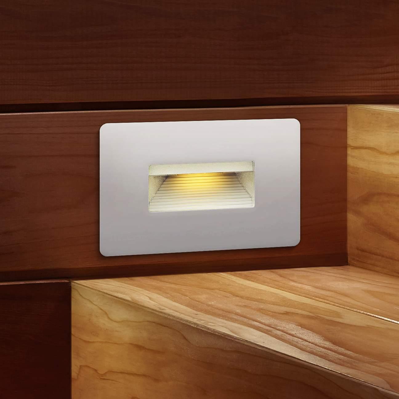 Simple White Step Lights