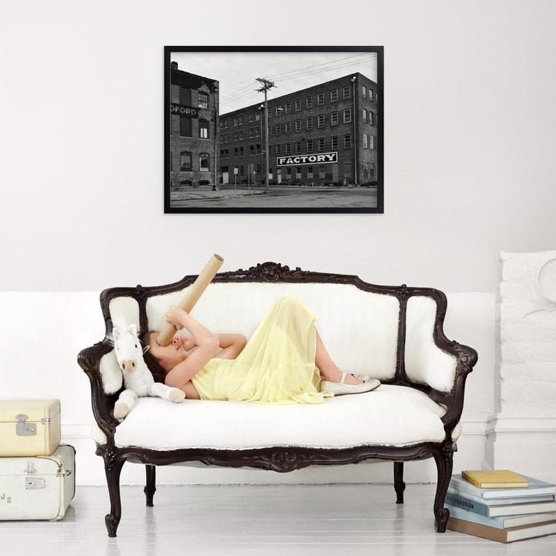 Monochrome Factory Print