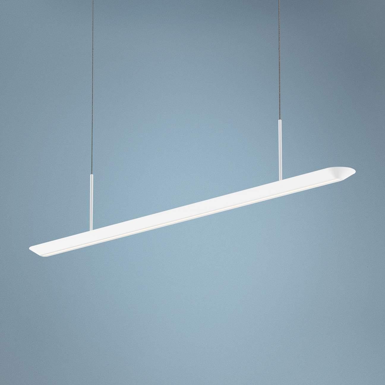 Futuristic White LED Strip Light