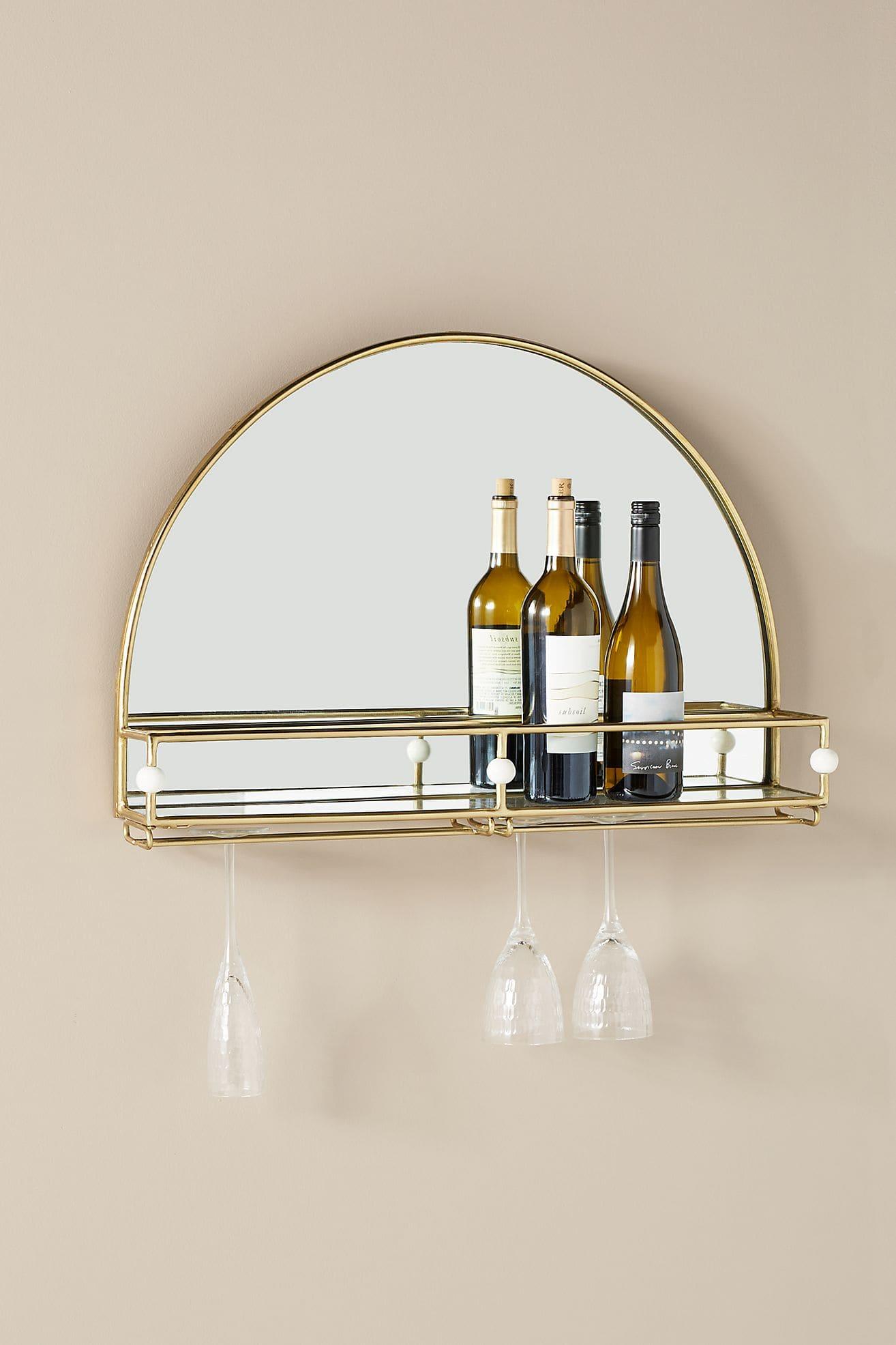 Stylish Wine Shelf