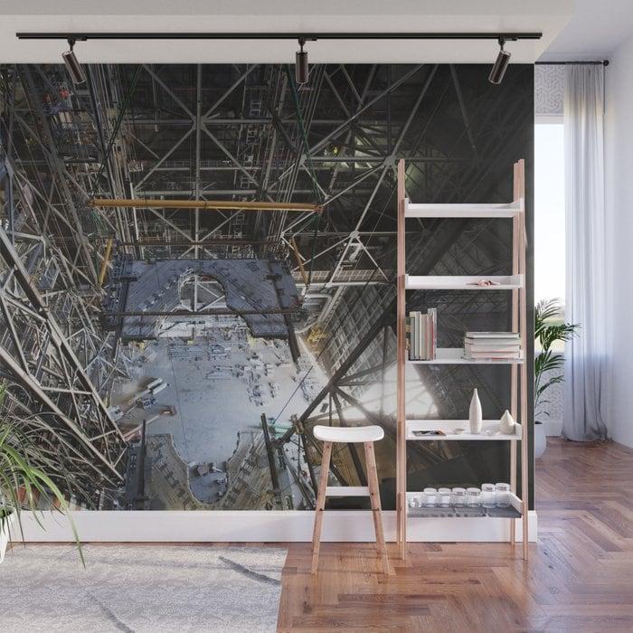 Industrial Crane Wall Mural