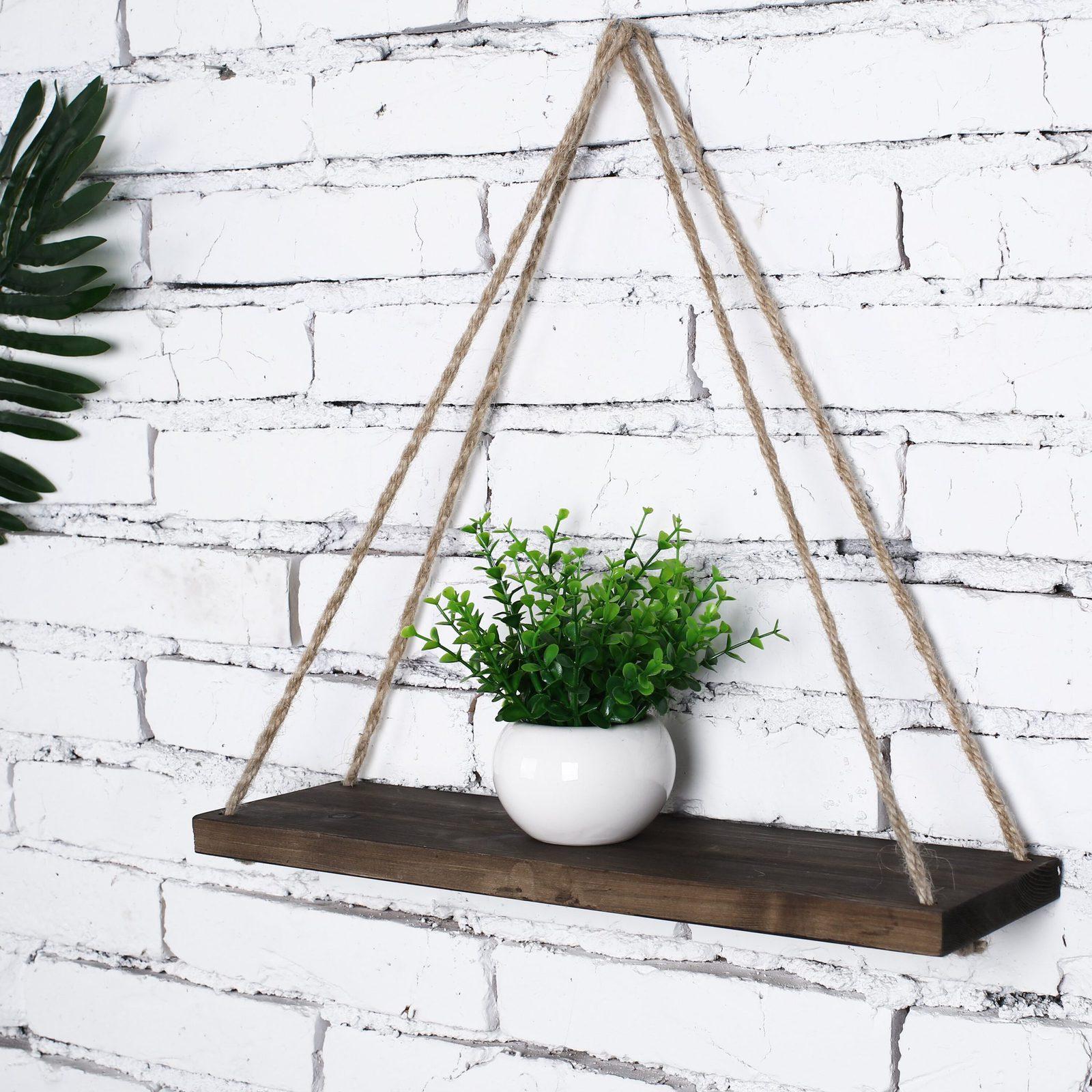 Triangle Hanging Shelf