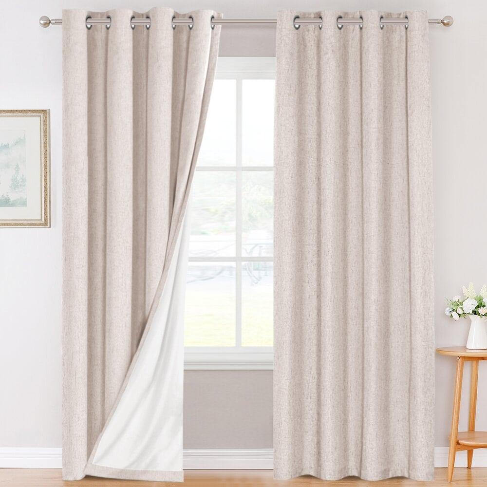 Cool Linen Blackout Curtains