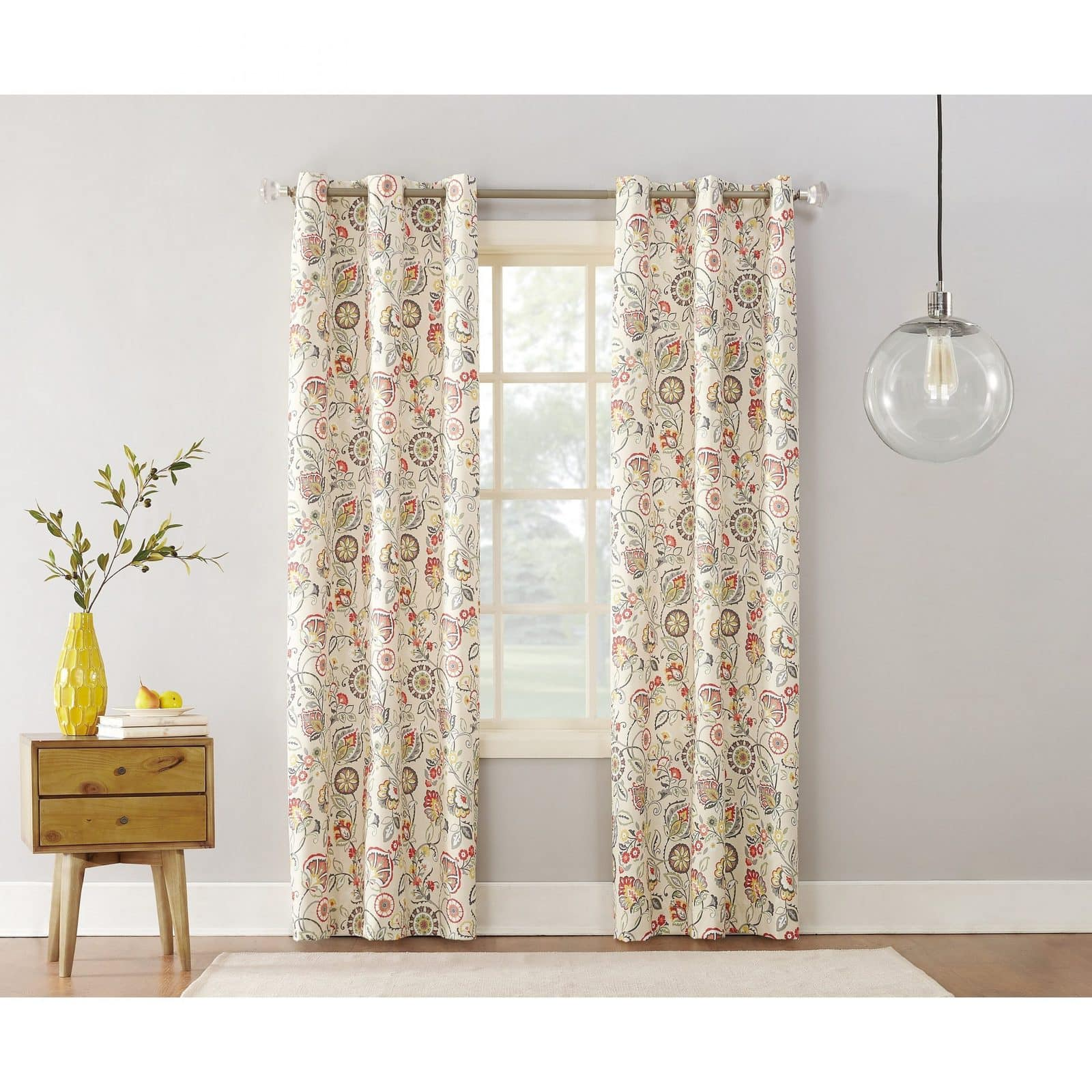 Botanical Print Curtains