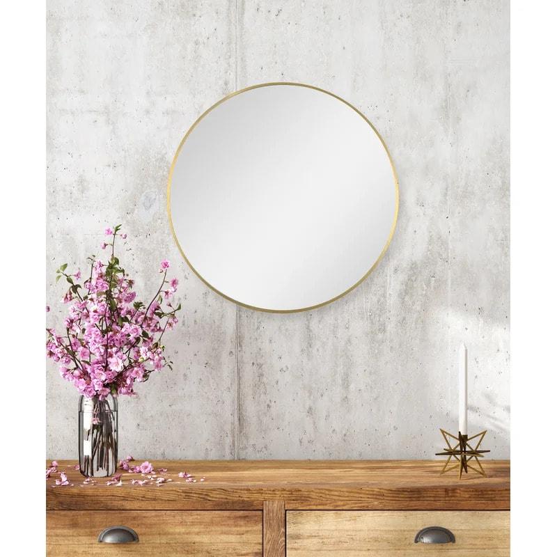 Go For Simplicity With a Circular Mirror