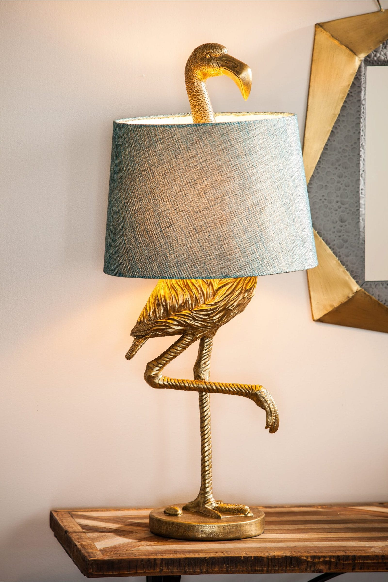 Let's Talk about THE Gold Flamingo Lamp