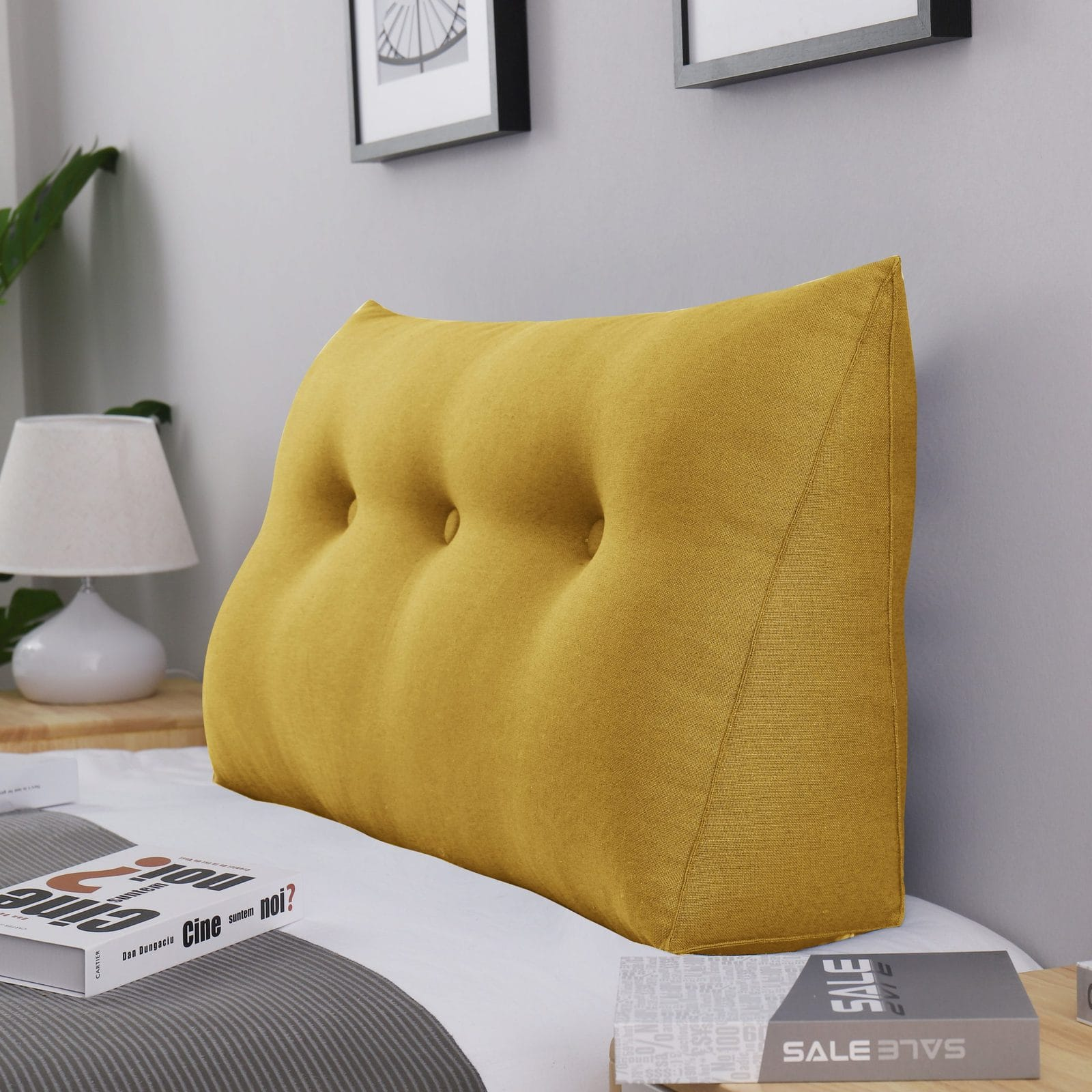 Get Comfy with this Angled Back Pillow