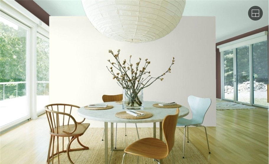 10 Simply White by Benjamin Moore 1