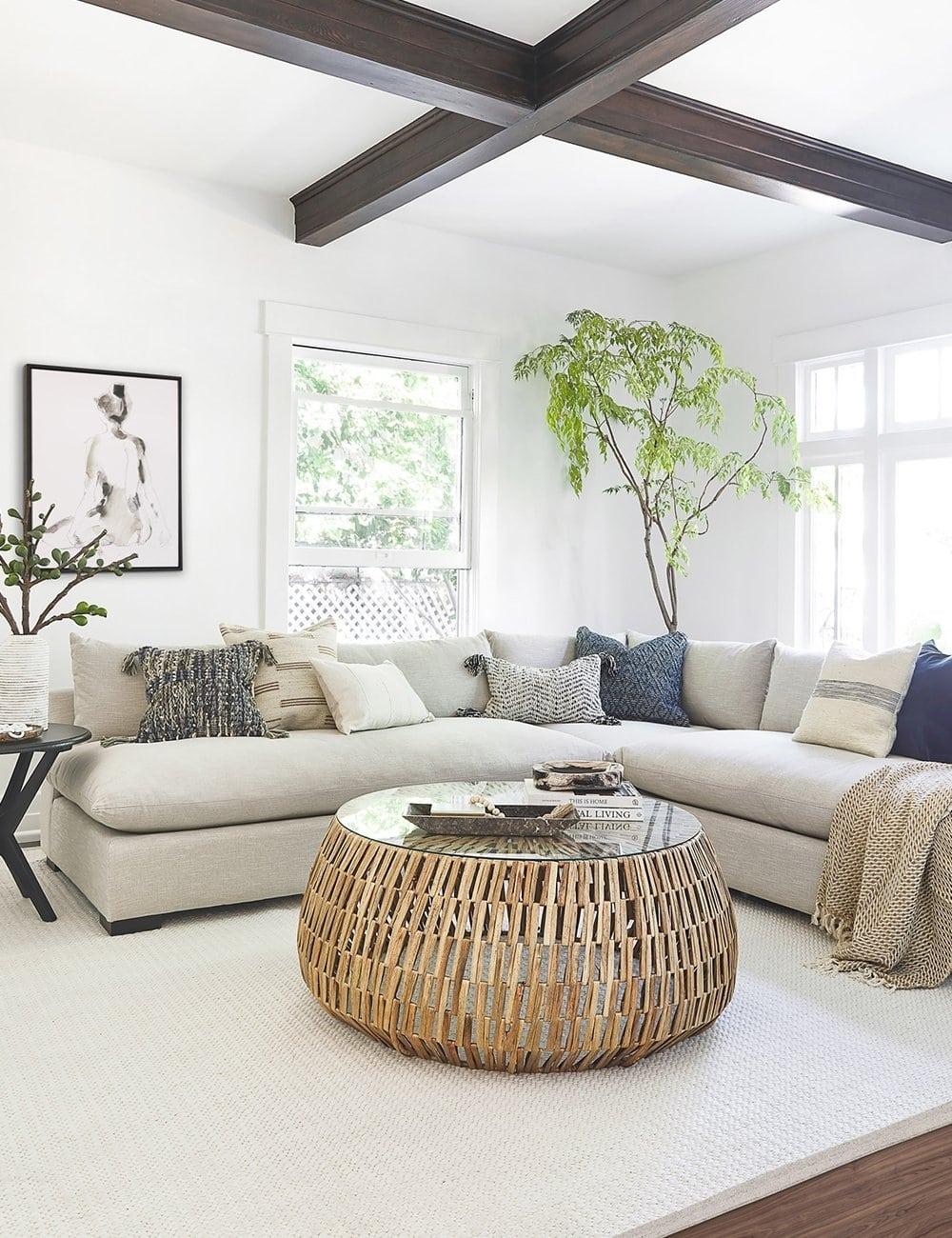 Oatmeal Sectional Sofa