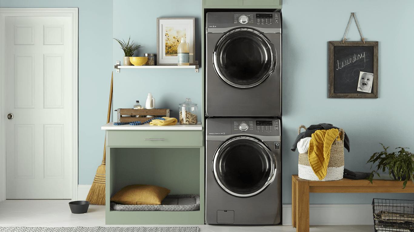 11 Sunken Pool Laundry Room by Behr