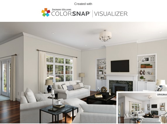 11 living room in agreeable gray by sherwin williams